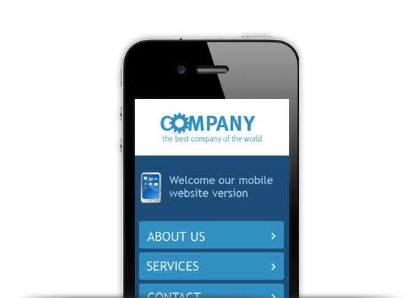 example of mobile website