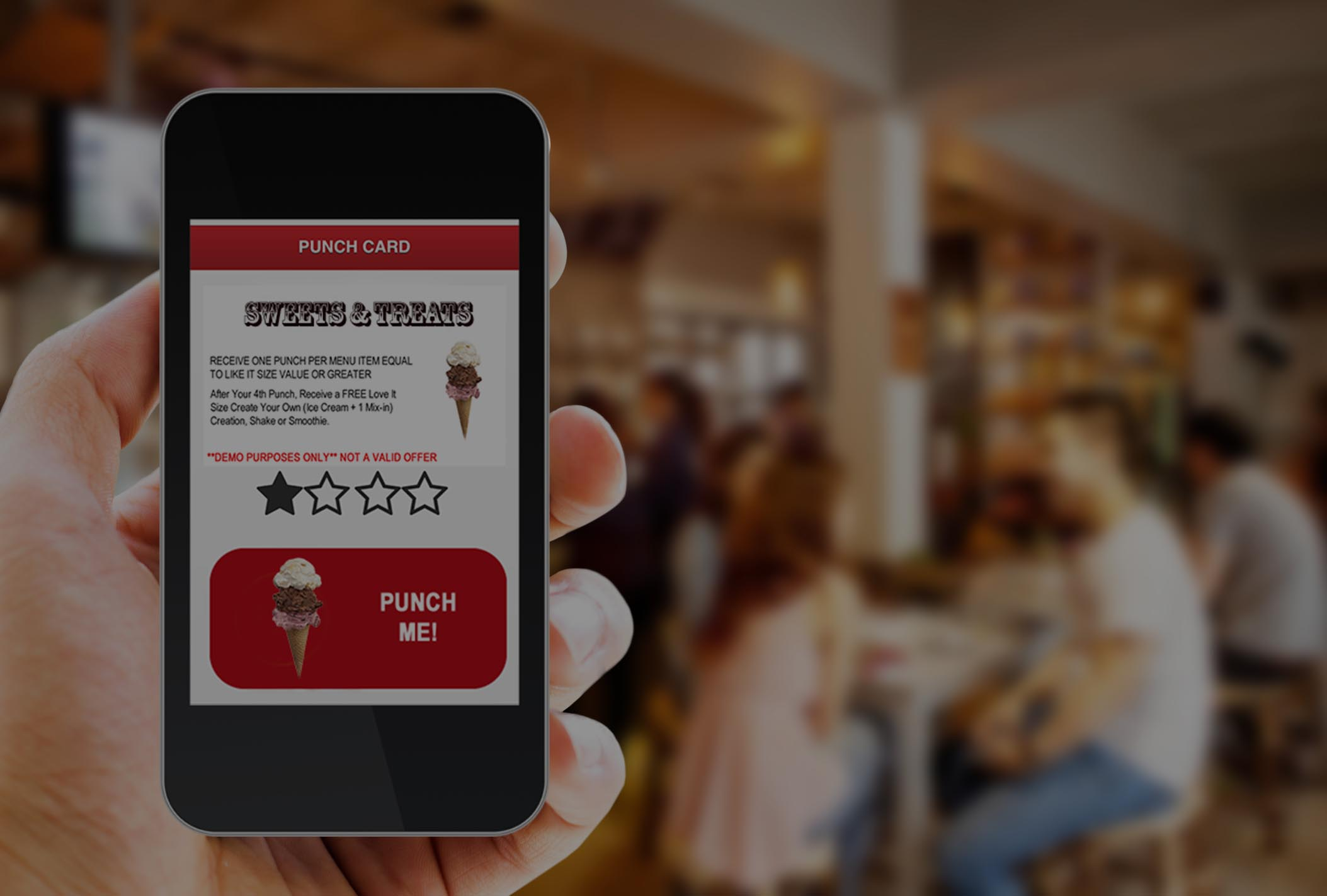 mobile loyalty punchcard