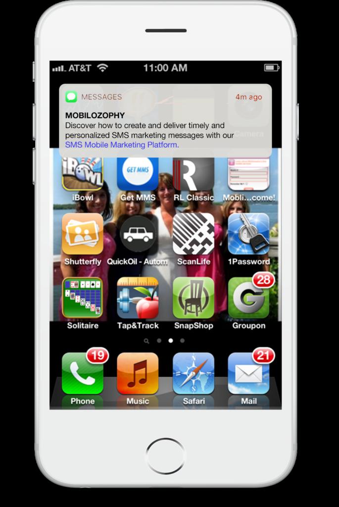 sms marketing platform message