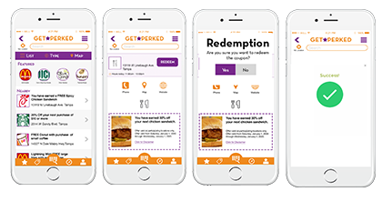 self redemption mobile coupon redemption