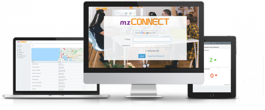 mzConnect Mobile Marketing Platform