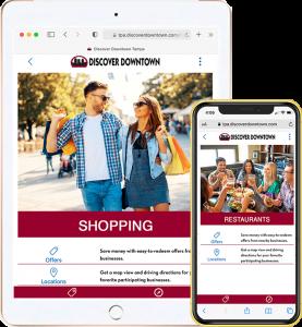 mobile marketing website iPhone iPad