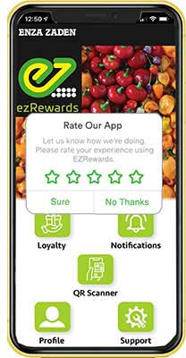 EZrewards inapp notification
