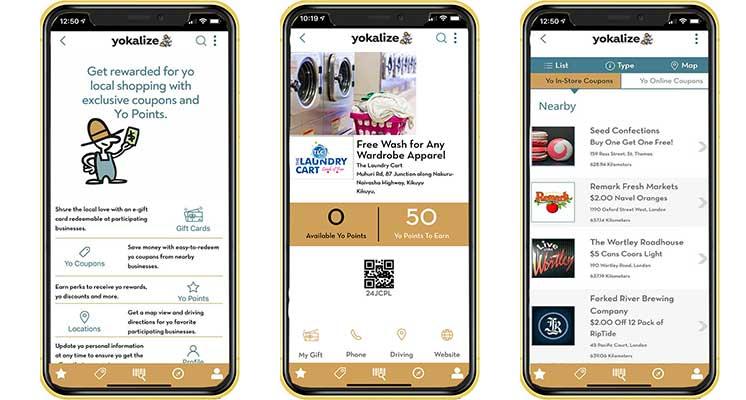 Yokalize White Label Loyalty App